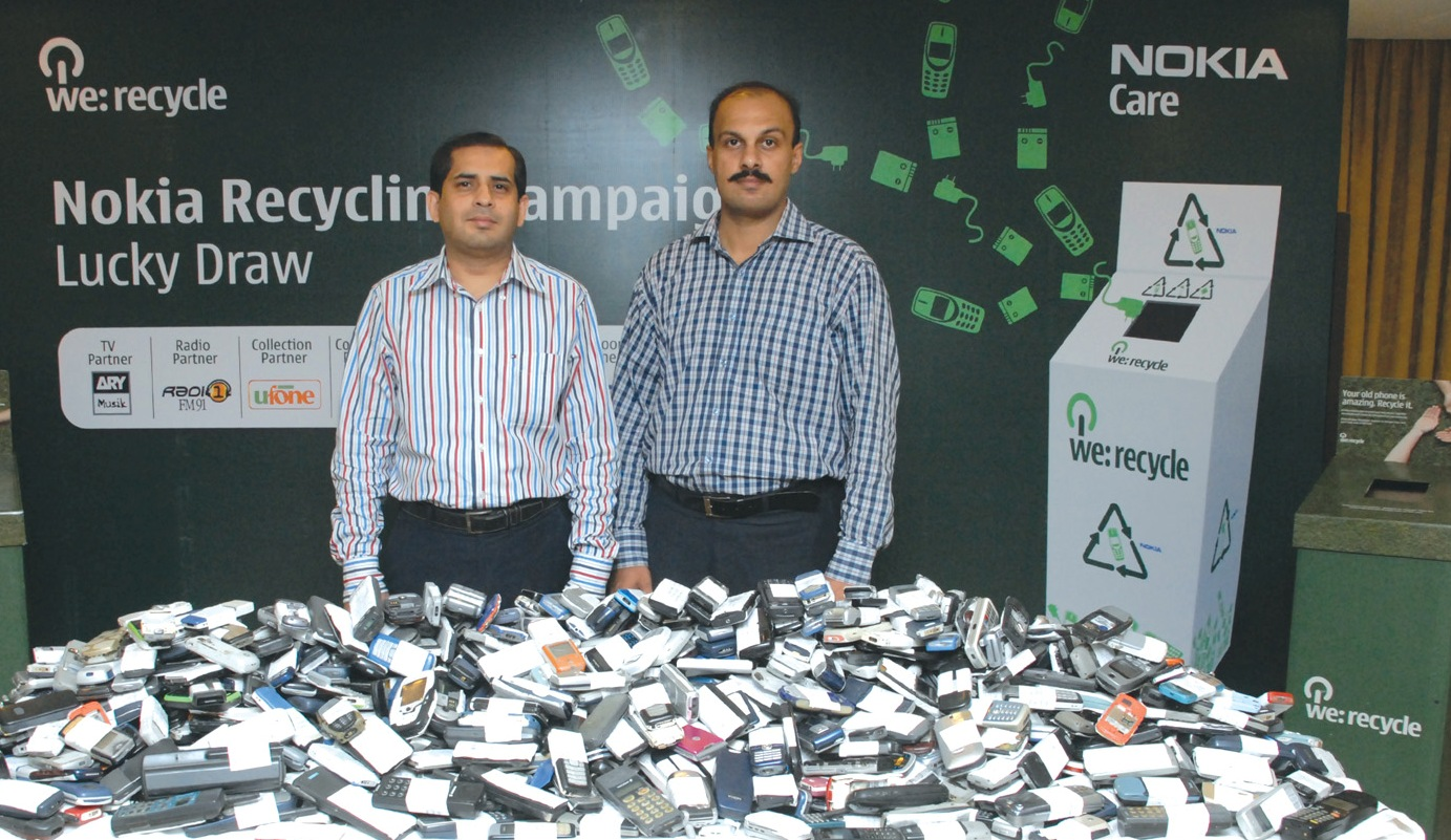 NOKIA Recycle Lucky Draw